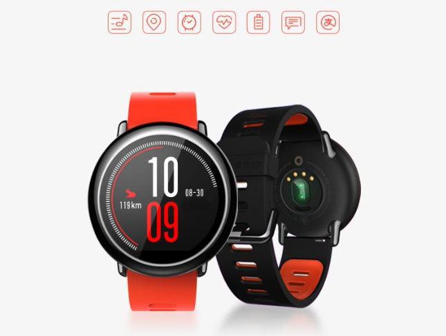 Đồng Hồ Thể Thao Thông Minh Amazfit Với Dây Đeo Silicon Định Vị GPS Cho Phép Kết Nối Với Điện Thoại IOS - Android