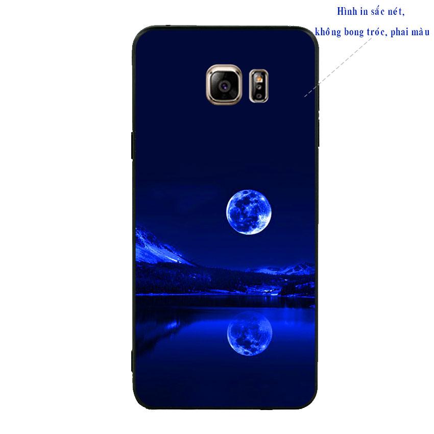 Ốp lưng viền TPU cao cấp cho Samsung Galaxy Note 5 - Moon 02