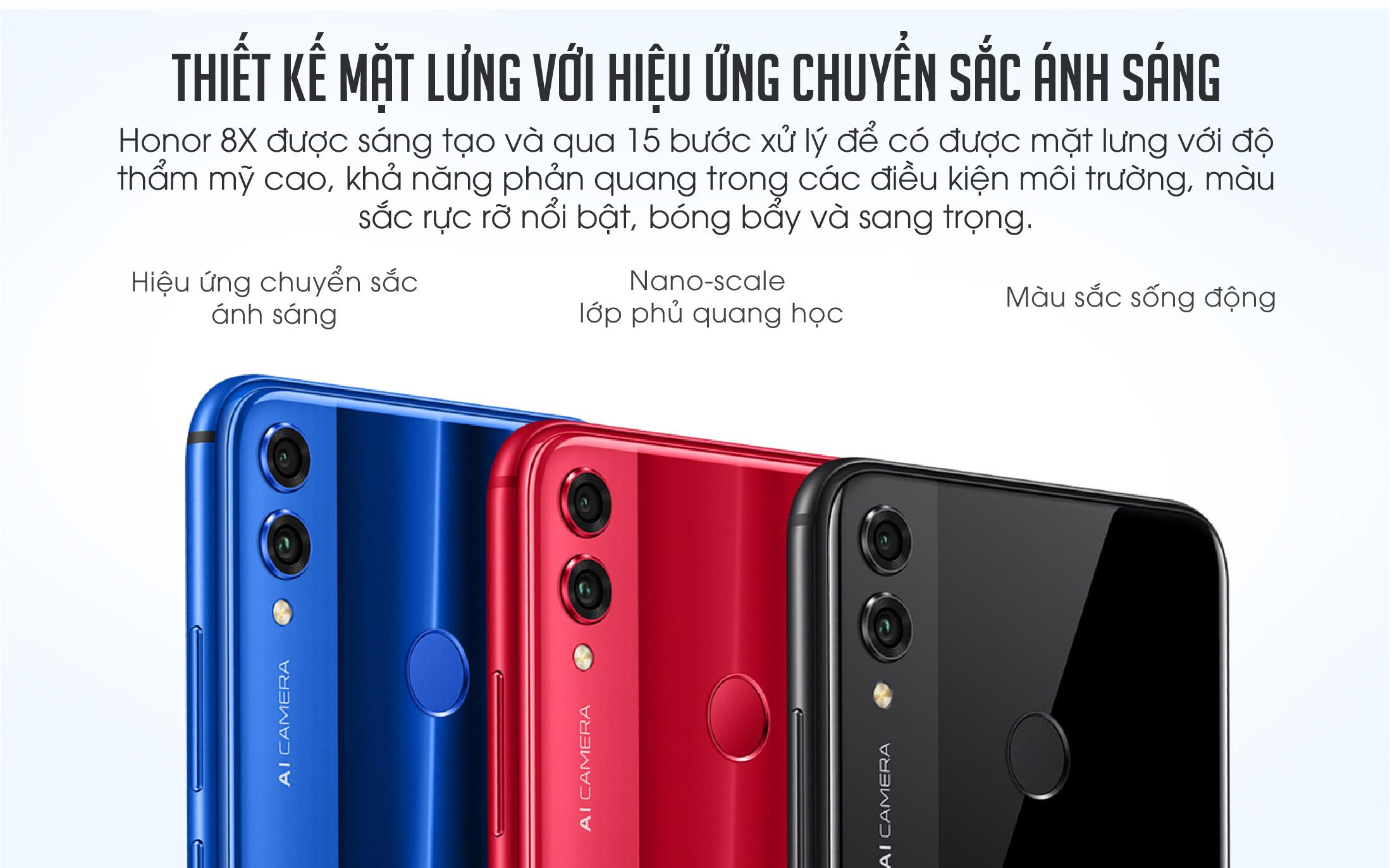 Điện Thoại Honor 8X (4GB/64GB) – Hàng Chính Hãng