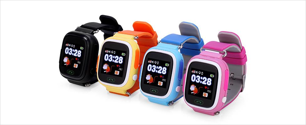 Đồng hồ định vị GPS Wonlex GW100 (Đen)