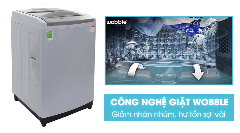 Máy Giặt Cửa Trên Samsung WA90M5120SG/SV (9kg) - Xám