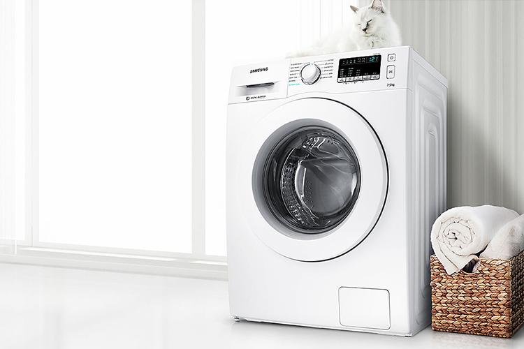 Máy Giặt Cửa Trước Inverter Samsung WW75J42G3KW/SV (7.5kg)
