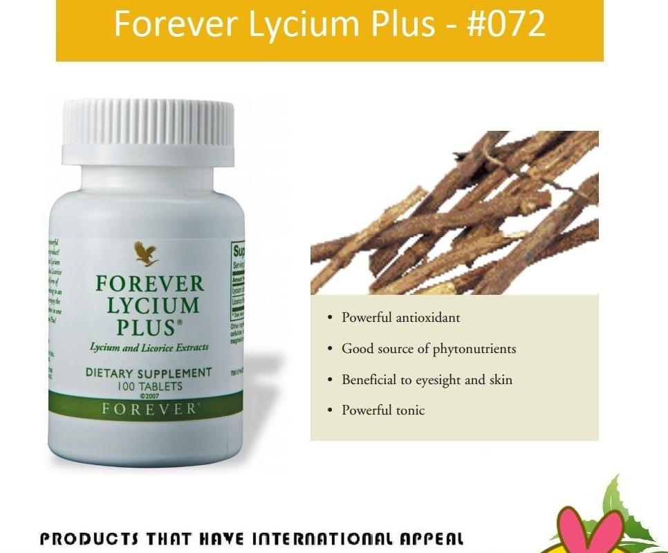 Thực Phẩm Chức Năng Hỗ trợ Cho Phổi Và Nội Tạng Forever Lycium Plus (#072) (100 Viên)