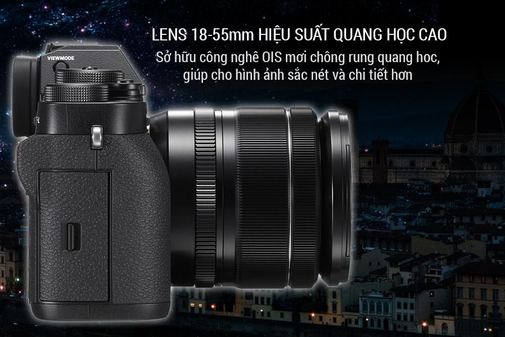 Máy Ảnh Fujifilm X-T2 (24.3MP) + Lens 18-55mm - Đen - Hàng Chính Hãng