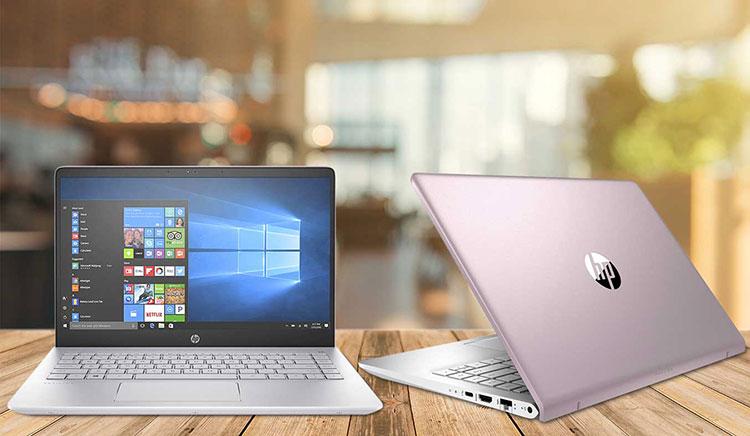 Laptop HP Pavilion 14-bf035TU 3MS07PA Core i3-7100U/Win 10 (14 inch) - Rose Gold - Hàng Chính Hãng