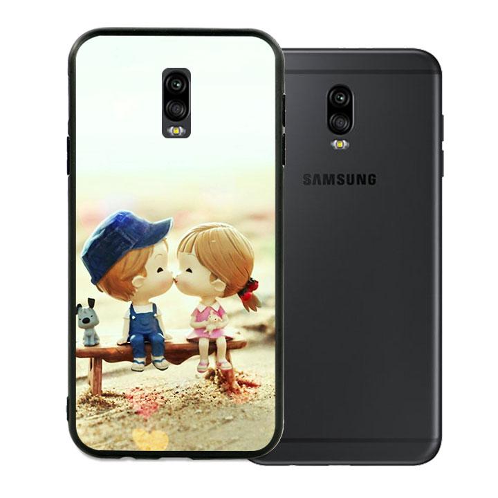 Ốp lưng viền TPU cao cấp cho Samsung Galaxy J7 Pro - Kiss Love 03