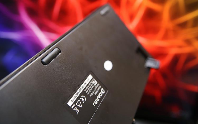 Bàn Phím Cơ Có Dây DareU DK880 RGB D Switch Tenkeyless - Hàng Chính Hãng