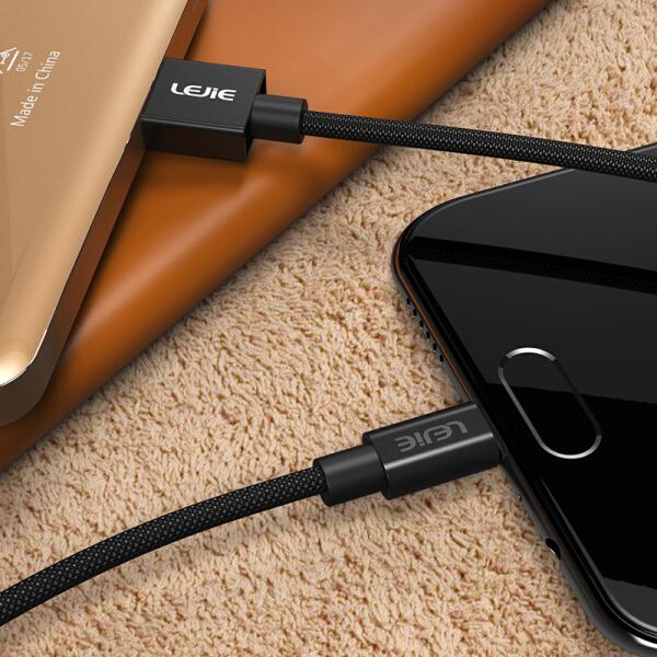 Cáp Sạc Và Truyền Dữ Liệu Micro USB Dây Ngắn Cho Android LEJIE