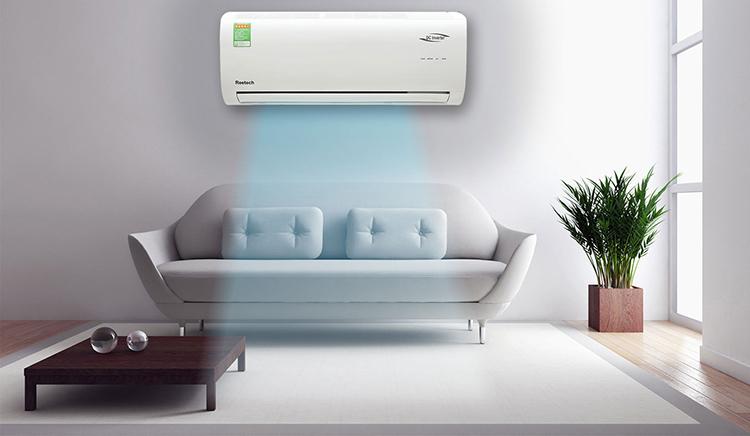 Máy Lạnh Inverter Reetech 2.0HP RTV18-BFA