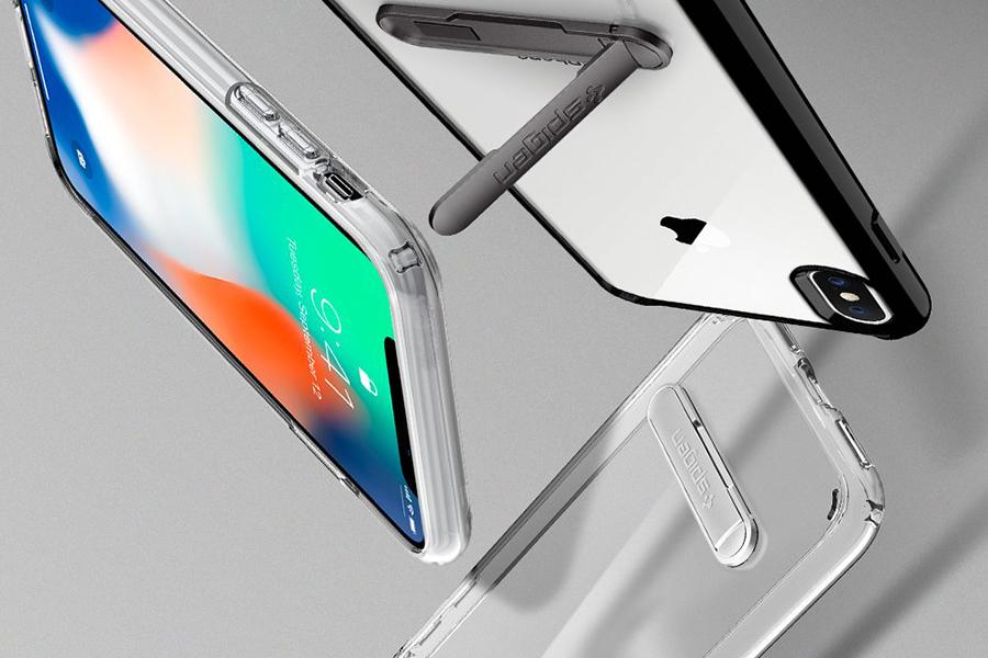 Ốp Lưng Iphone X Spigen Ultra Hybrid S - Hàng Chính Hãng