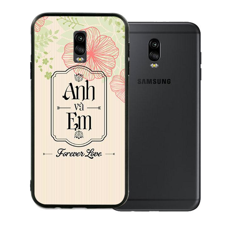 Ốp lưng viền TPU cao cấp cho Samsung Galaxy J7 Pro - Anh Và Em