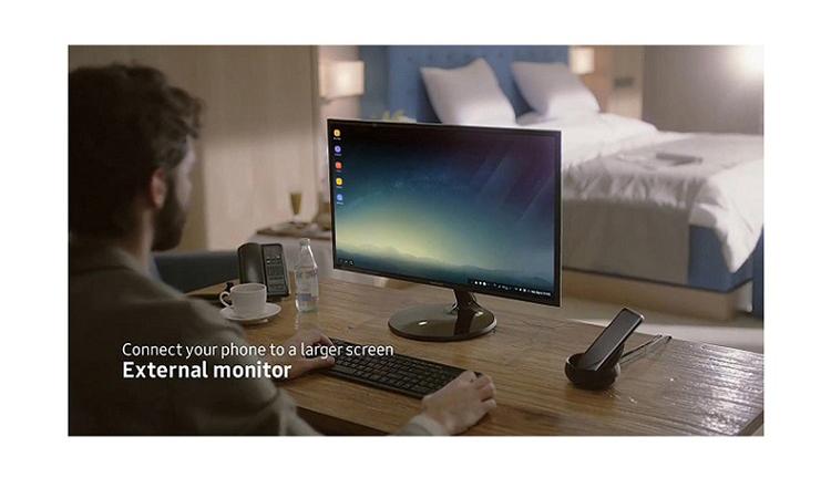Ổ Sạc Cố Định Samsung S8 Cho Điện Thoại Và Màn Hình DeX
