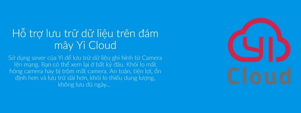 Camera Quan Sát Yi Home 1080P HD Quốc Tế - Hàng Chính Hãng