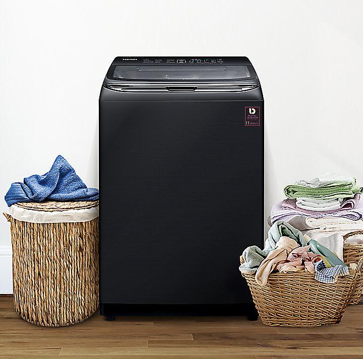 Máy giặt cửa trên Inverter Samsung WA21M8700GV/SV (21kg)