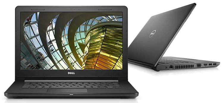 Laptop Dell Vostro 3478 R3M961 Core i5-8250U/Dos (14 inch) - Black - Hàng Chính Hãng