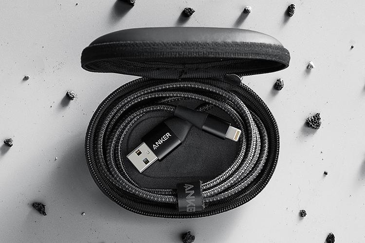 Dây Cáp Sạc Lightning Cho Iphone Anker Powerline+ II 1.8m A8453 - Hàng Chính Hãng