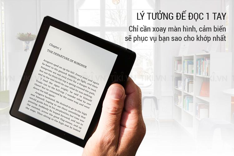 Máy Đọc Sách Kindle Oasis 32G - Hàng Nhập Khẩu - Silver