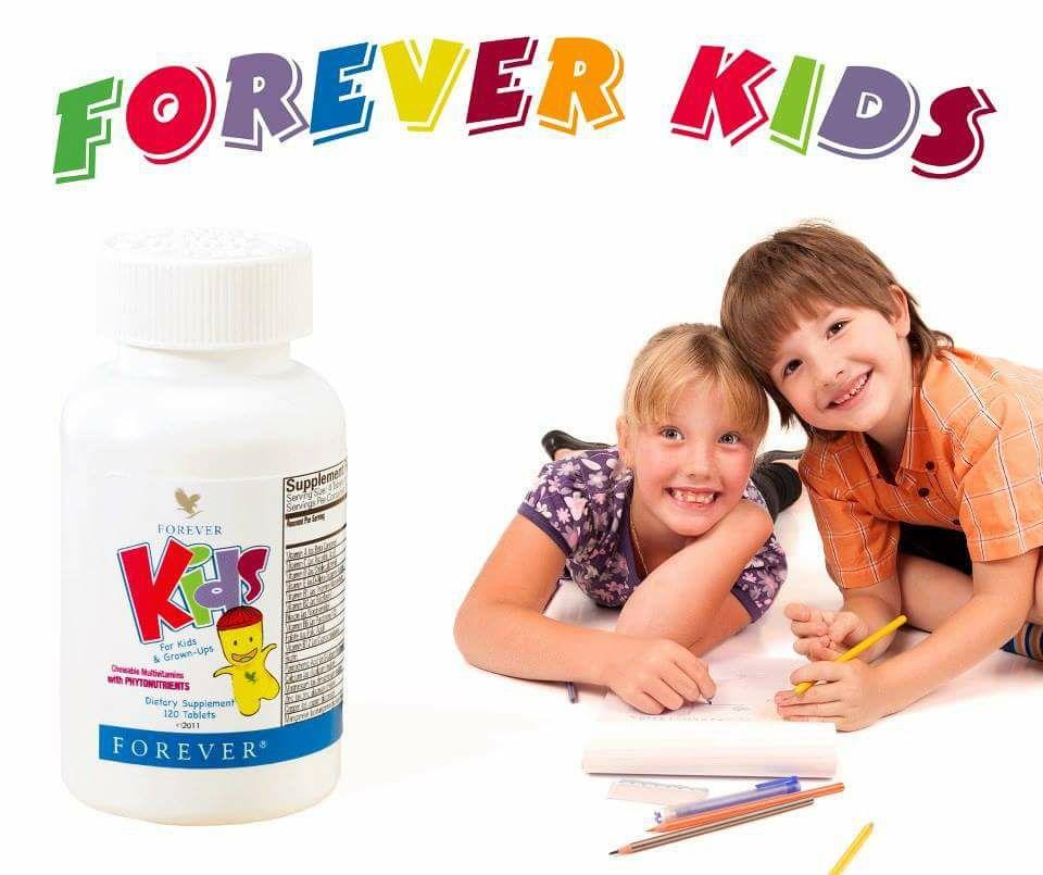 VIÊN NGẬM CHO TRẺ Forever Kids (Giúp trẻ ăn ngon hấp thu tốt) - HÀNG CHÍNH HÃNG từ MỸ