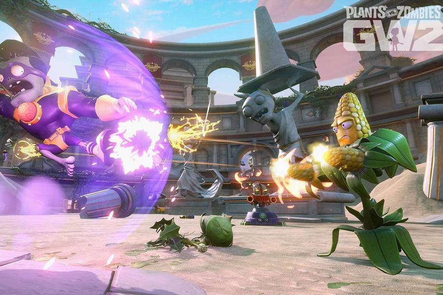Đĩa Game PlayStation PS4 Sony Plants vs. Zombies Garden Warfare 2 Hệ US