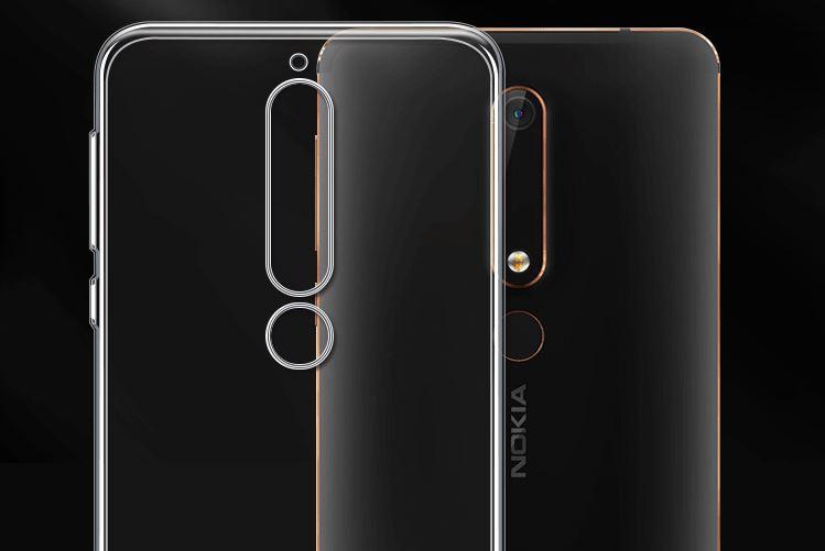 Ốp Lưng Silicone Cho Nokia 6