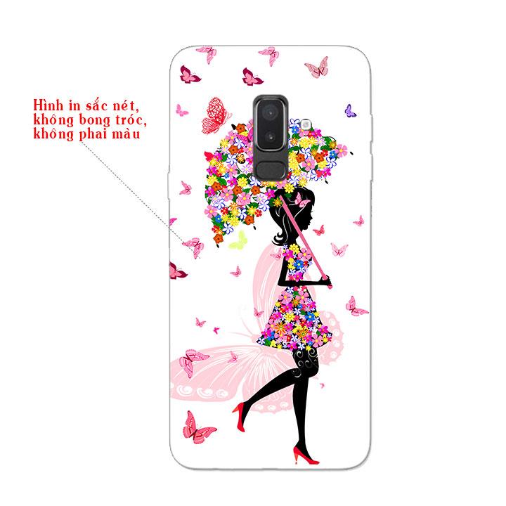 Ốp Lưng Dẻo Cho Điện thoại Samsung Galaxy J8 - Beautiful Girl