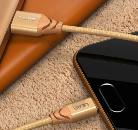 Cáp Sạc Dữ Liệu Micro USB Cho Android Lok LEJIE LUMC-2050E (Dài 0.5m)