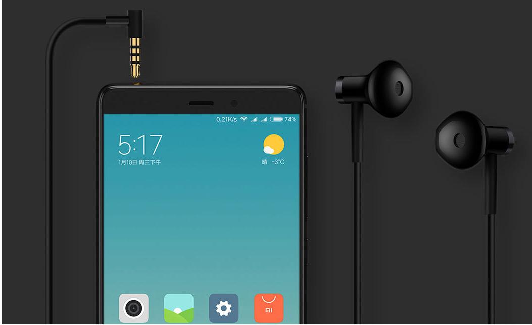 Tai Nghe Nhét Tai Xiaomi Dual Driver- Hàng Nhập Khẩu