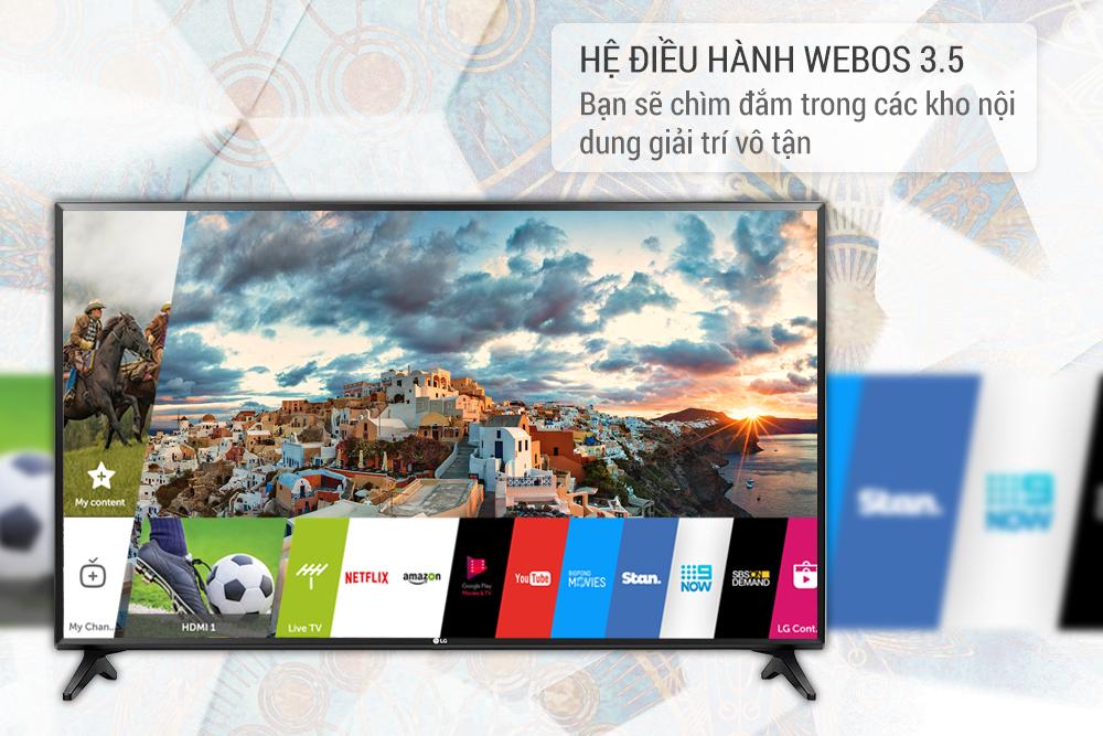 Smart Tivi LG 49 inch Full HD 49LJ550T
