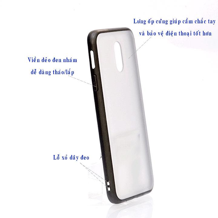 Ốp lưng viền TPU cao cấp cho Samsung Galaxy J7 Pro - Student Paint