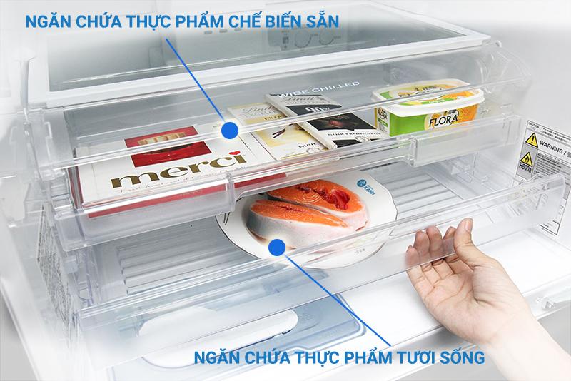 Tủ Lạnh Inverter Mitsubishi MR-CX41EJ-BRW-V (326 lít)