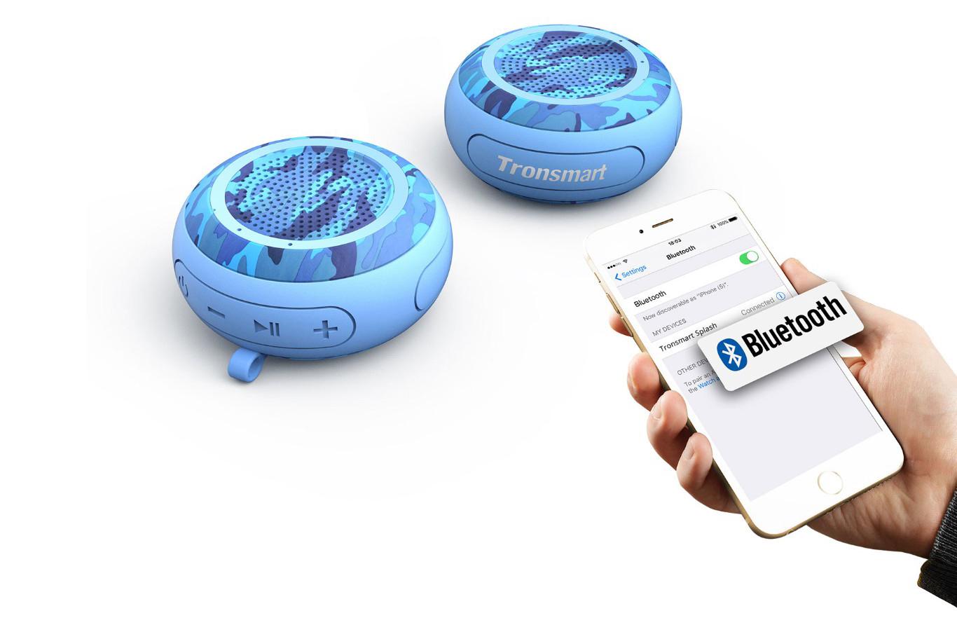 Loa Bluetooth Tronsmart Element Splash 7W - Hàng Chính Hãng