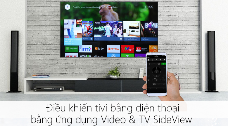 Android Tivi Sony 55 inch 4K KD-55X9000F