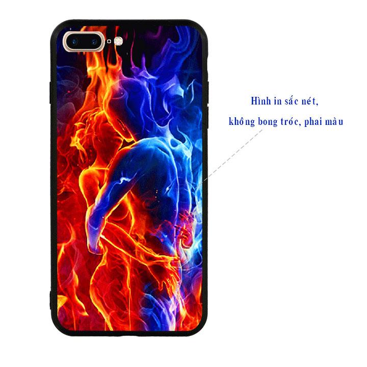 Ốp lưng viền TPU cao cấp cho Iphone 7 Plus - Love 04