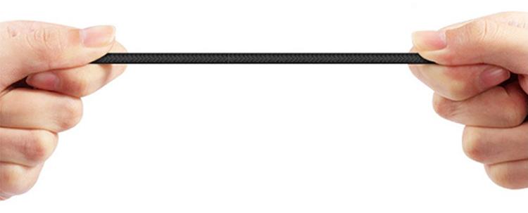 Cáp Sạc Lightning Dây Dù Hoco X14 2m Cho Iphone Siêu Bền - Hàng Chính Hãng