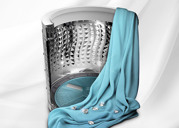Máy Giặt Cửa Trên SamSung WA72H4000SG (7.2kg) - Xám