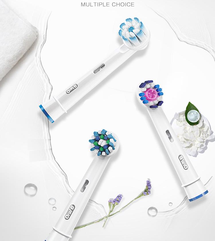 Bàn Chải Đánh Răng Điện Thông Minh Ibrush Braun (Braun) Ou Le B 6500 - Sóng Âm 3D Bluetooth - Trắng
