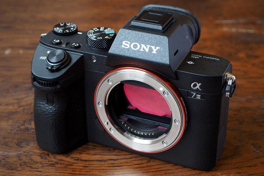 Máy Ảnh Sony A7M3 Alpha A7 Mark III Body (24.2MP) - Đen - Hàng Chính Hãng