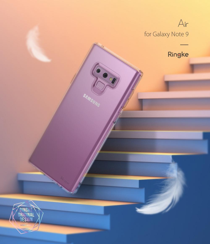 Ốp Lưng Samsung Galaxy Note 9 Ringke Air - Hàng Chính Hãng
