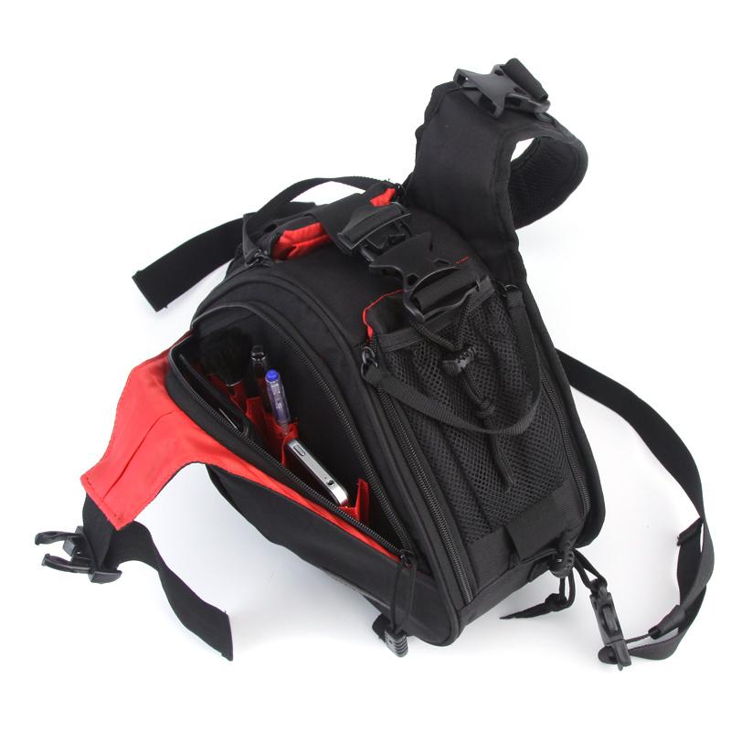 Túi đeo chéo vai đựng máy ảnh DSLR, chống sốc cho máy ảnh, chất liệu cao cấp - POKI