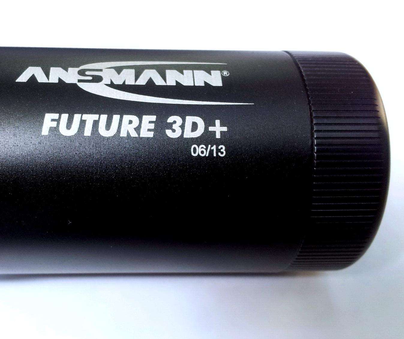 Đèn pin siêu sáng ANSMANN Future 3D