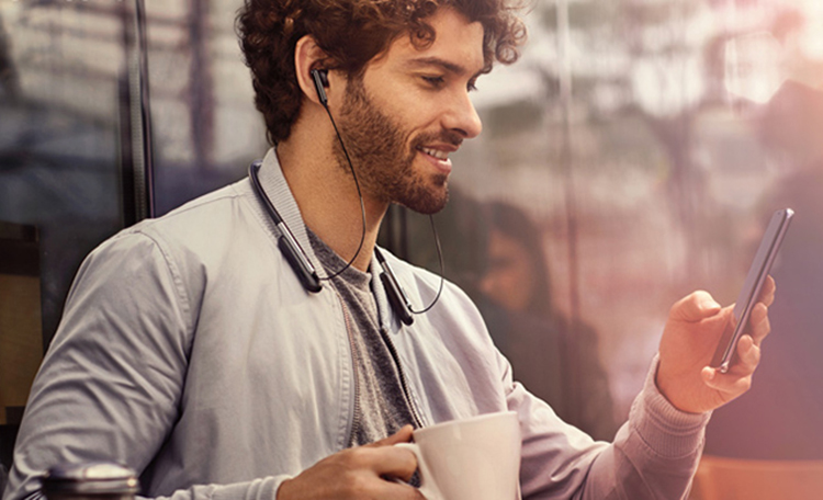 Tai Nghe Bluetooth Nhét Tai Samsung U Flex - Hàng Chính Hãng - Đen