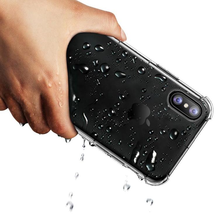 Ốp Lưng Dẻo Chống Sốc Phát Sáng Cho iPhone X Fashion Case (Trong Suốt) - Hàng Nhập Khẩu