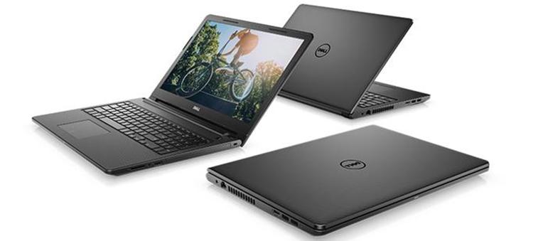 Laptop Dell Inspiron 3576 70153188 Core i5-8250U/Free Dos (15.6 inch) - Black - Hàng Chính Hãng