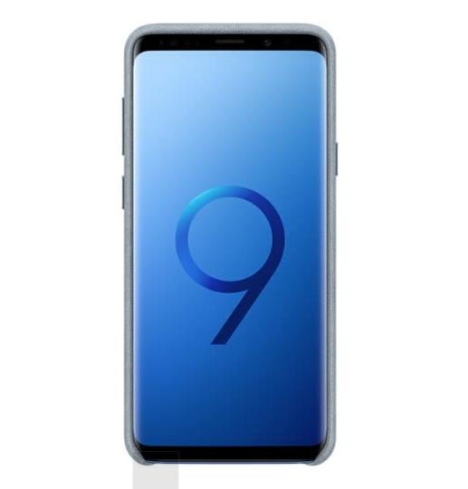 Ốp Da Lộn Bảo Vệ Điện Thoại Samsung (SAMSUNG) S9 Alcantara - Xám