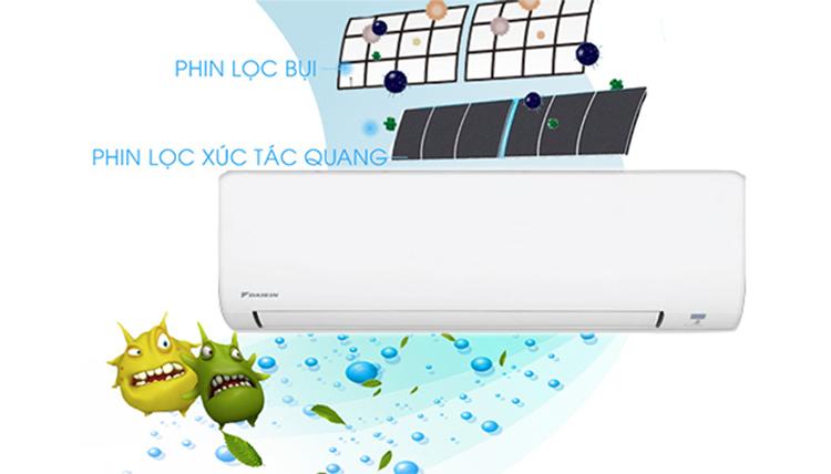 Máy Lạnh Daikin FTC50NV1V/RC50NV1V (2.0HP)