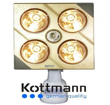 Đèn sưởi Hans Kottmann 4 bóng K4B-G