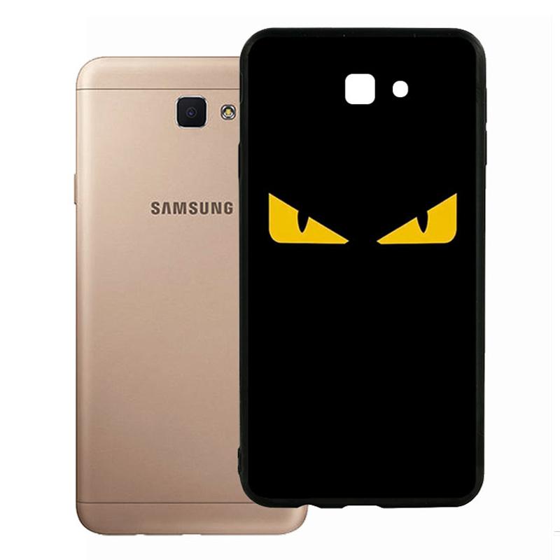 Ốp Lưng Viền TPU Cho Samsung Galaxy J7 Prime - Monster 02