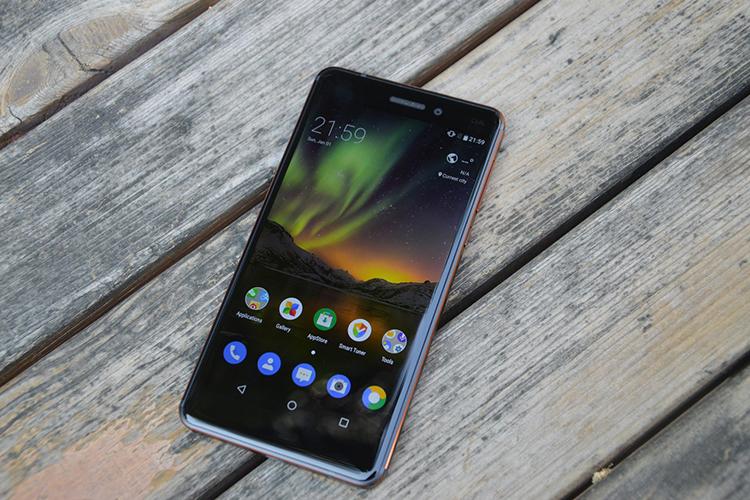 Điện Thoại Nokia 6 (2018) - Hàng Chính Hãng