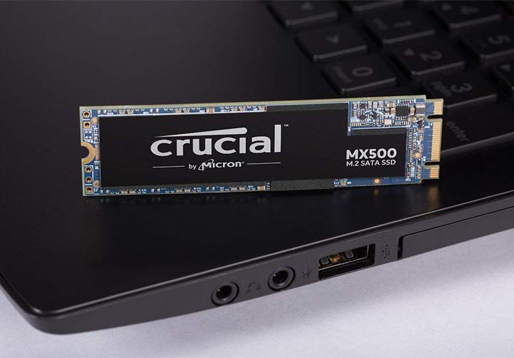 Ổ Cứng SSD Crucial CT250MX500SSD4 250GB Sata III M.2