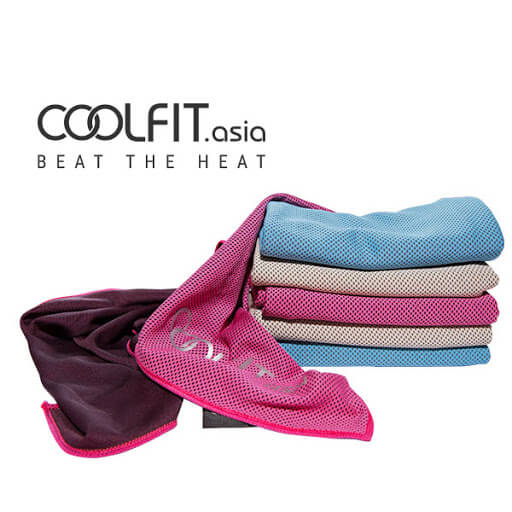 Khăn làm mát thể thao giúp giải nhiệt cấp tốc CoolFit